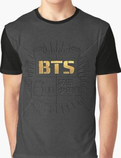 Bangtan Boys (BTS) '2 Cool 4 Skool' Graphic T-Shirt