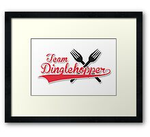 Team Dinglehopper Framed Print