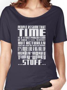 Timey Wimey Stuff Women's Relaxed Fit T-Shirt