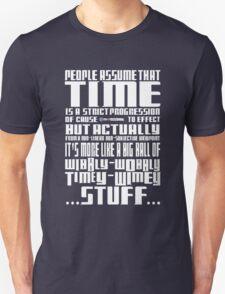 Timey Wimey Stuff Unisex T-Shirt
