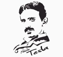 Tesla - Nikola Tesla by Immortalized