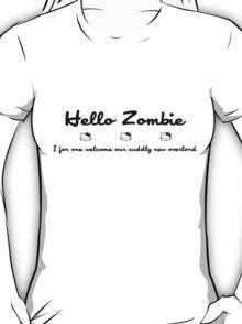 Hello Kitty Zombie - Black T-Shirt