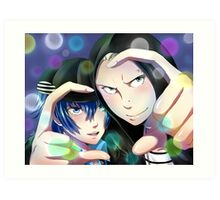 Kannao - Fashionable Duo Art Print