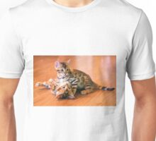 Bengal Kittens at Play Unisex T-Shirt