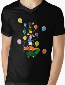 Tortoise Tower Mens V-Neck T-Shirt