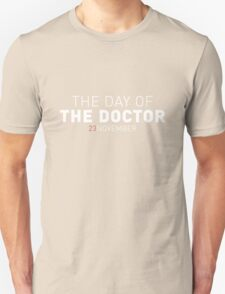 The Day of The Doctor Unisex T-Shirt