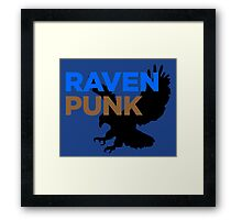 RavenPUNK - Ravenclaw Framed Print