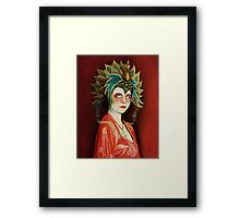 Kim Cattrall in Big Trouble In Little China Framed Print