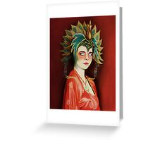 Kim Cattrall in Big Trouble In Little China Greeting Card