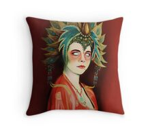 Kim Cattrall in Big Trouble In Little China Throw Pillow