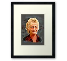 My artist friend Sue Framed Print