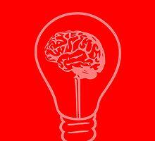 An Idea - Red by Sinder Singh