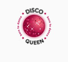 Disco Queen - Born to Dance Womens Fitted T-Shirt