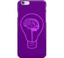 An Idea - Purple iPhone Case/Skin