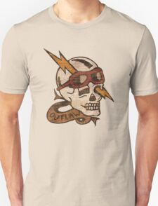 Old Timey Tattoo Design Unisex T-Shirt
