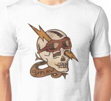 Old Timey Tattoo Design Unisex T-Shirt