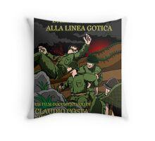 DALLA CORSICA ALLA LINEA GOTICA - MOVIE POSTER Throw Pillow