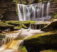 Elakala Falls, WV by PhotoByTrace