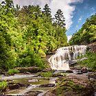 Bald River Falls by PhotoByTrace