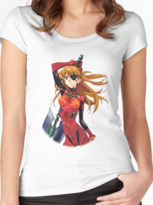 Asuka Shikinami Langley Women's Fitted Scoop T-Shirt
