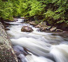 Cullasaja Rapids by PhotoByTrace