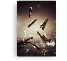 Bullet time Canvas Print