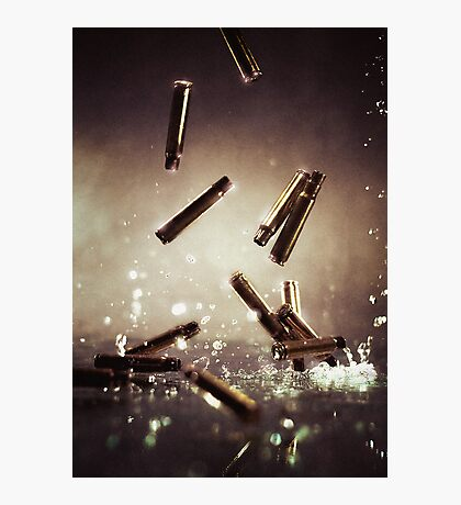 Bullet time Photographic Print