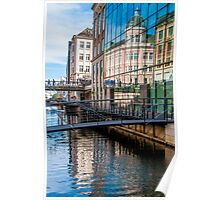Building Reflections in Aarhus Poster