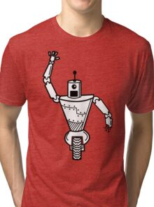 Robot on Wheels  Tri-blend T-Shirt