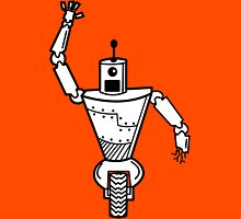 Robot on Wheels  Unisex T-Shirt