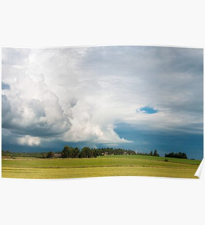 Storm Approaching in Denmark Poster