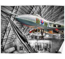 Avro Vulcan B2 - Cosford - HDR Poster