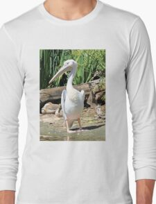 White Pelican Long Sleeve T-Shirt