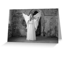 An Angel Appears Greeting Card