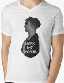 Mark My Words // Purpose Pack // Mens V-Neck T-Shirt