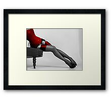 Sheer legs Framed Print