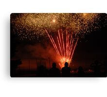Fourth of July Celebration Canvas Print