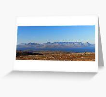 Skye Cuillins Greeting Card
