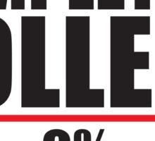 Completing College 0 per cent % progress bar Sticker