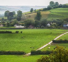 Cerne Valley 2 by Geoff Carpenter