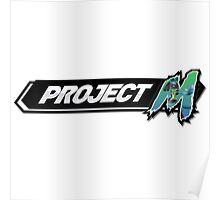 Project M - Lucario Main (Green Alt) Poster