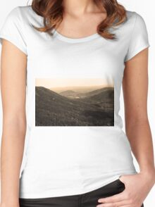 Blue Ridge Mountains - Virginia Women's Fitted Scoop T-Shirt