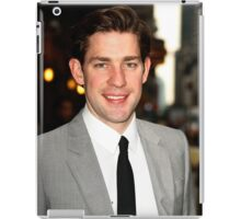 John Krasinski being cute  iPad Case/Skin