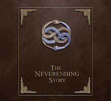 Never Ending Story Ipad Case by viperbarratt