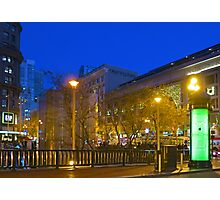 Fifth and Market Photographic Print