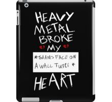 Fall Out Boy Centuries - Heavy Metal Broke My Heart iPad Case/Skin