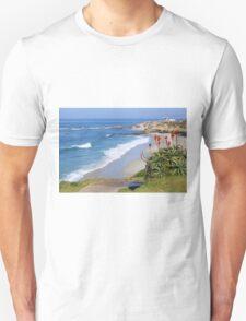 La Jolla Coastline Unisex T-Shirt