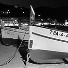Wooden Spanish Boats on the Beach by James2001