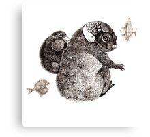 fantastic animals Canvas Print
