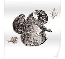 fantastic animals Poster